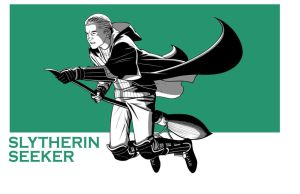 HP: SLYTHERIN SEEKER by Jerome-K-Moore