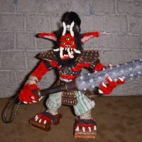 Oni Figure with Kanabo by the-gil-monster