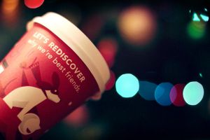 x-mas starbucks by Flower1991