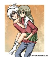Soul and Maka by Me-Unlucky-Girl