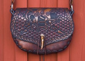 "Belt bag ""Fenrir"" frontal by Wodenswolf"