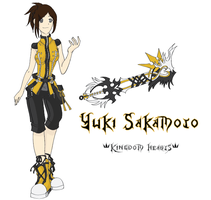 Yuki in Kingdom Hearts by akatsukigirlyukii