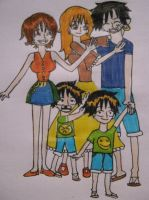 Monkey D. Family by Hotspot0626