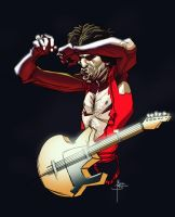 Keith Richards by MBorkowski