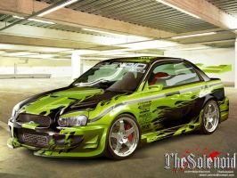 Subaru Impreza by TheSolenoid