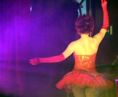 Caberet Dancer by amyhooton
