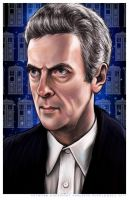 Peter Capaldi as The Doctor by AshleighPopplewell