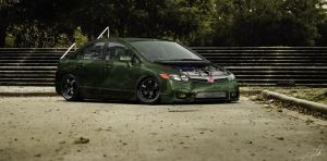 Honda Civic EX by IVtuner