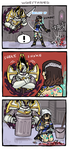 Bloodstained comic by emlan