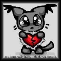 Sad Kitty - Broken Hearted by xl-technokitten-lx