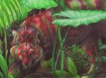 ACEO - The rarest Jungle Jewel by BloodhoundOmega