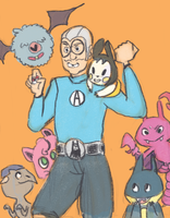 Aquabats Leader MCBC would like to battle! by Pachnoda