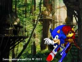 Sonally in Knothole by SonicUnderground316