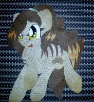 Numbat Pony paper doll by Dean-Razorfin
