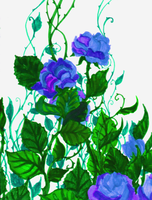 Blue Green Purple by RebeccaTripp