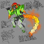 SNAP BACK DUDEBRO'S GNARLY REFERENCE IMAGE by Inkblot-Rabbit