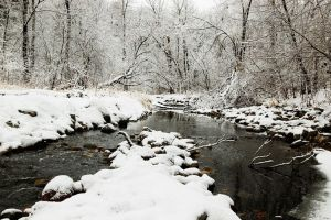 nine mile creek winter by BrianWolfe