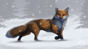 Amber Winter by WindWo1f
