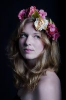 Flower girl 2 by ManaGesi