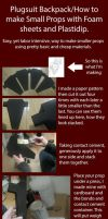 How to make Props with Plastidip and Foam Sheets by RuffleButtCosplay