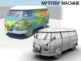 Mystery Machine by JimmyMarshall