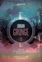 Urban Grunge Flyer by styleWish