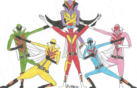 Power Rangers: Ancient Guardians (by Drenduh Tyrof by MadRedX12