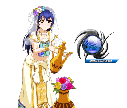 Love live - Umi cute arabian clothes render by sharknex