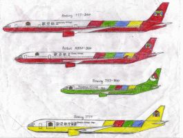 Eurasia Airlines Group Plane Livery 3 by MaxCheng95