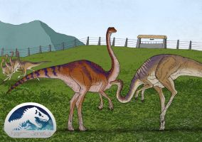 JG - Gallimimus Enclosure by March90