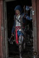 Connor Kenway Cosplay - allonger le pas by Pearlite