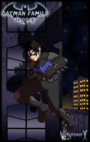 Batman Family Legacy - Nightwing / Batman - Cover by WingzemonX