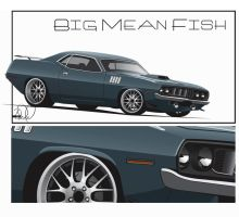 Big Mean Fish by cityofthesouth