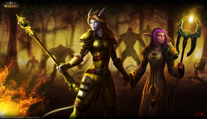 World of Warcraft: Dark Forest by Serathus