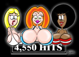 4550 Hits by archbubba