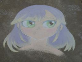 ChalkArt Anime 1 by AbsentWhite