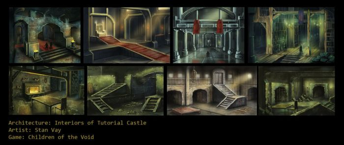 Tutorial castle interior by childrenofthevoid