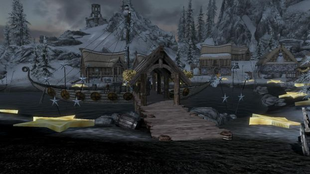 Dawnstar Christmas time 1 by Luipunker91