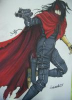 vincent valentine by aimeeck