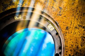 windowed and rusted by xthumbtakx
