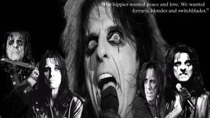 Alice Cooper Wallpaper by firemaster96