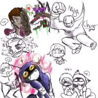 l4D: Random Sketches II by AnimeAntie