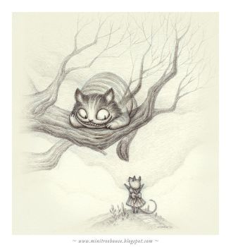 Cheshire Cat by minitreehouse