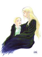 mother and son - the Malfoys by bluestraggler
