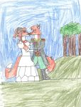 Gedvin and Eliza's wedding day by trexking45