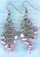 chainmail earrings by Craftcove