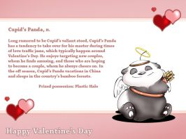 Cupid's Panda by mree