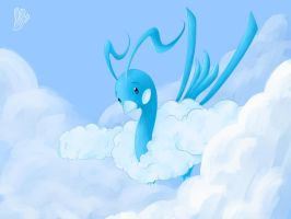 Hidden Among the Clouds by lagendarylugia