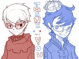 Thank You All! by Freed-Alice