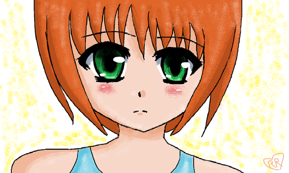Quick drawing made in paint. by Rozala